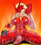 2015 anthro avian balls blaziken breasts dickgirl erection intersex muscular muscular_intersex nintendo nipples penis pokémon precum solo vicioustyrant video_games  Rating: Explicit Score: 7 User: FwP Date: August 01, 2015