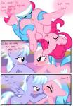 <3 aloe_(mlp) cloud_chaser_(mlp) comic cutie_mark dialogue earth_pony edit equine female female/female feral friendship_is_magic gaping gaping_pussy hi_res hisexpliciteditor horse licking lotus_(mlp) mammal my_little_pony oral pegasus pinkie_pie_(mlp) pony pussy pyruvate sex text tongue tongue_out vaginal wings  Rating: Explicit Score: 7 User: DatPhotoshopDoeee! Date: November 15, 2014