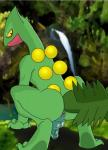 2017 animal_genitalia anthro anus balls barefoot butt claws detailed_background digital_media_(artwork) feral foreskin forest humanoid_penis lizard looking_at_viewer lusarthel male nintendo outside penis perineum pokémon presenting presenting_anus presenting_hindquarters raised_tail rear_view reptile scalie sceptile solo spreading toes tree uncut video_games yellow_eyesRating: ExplicitScore: 11User: bucklemearioDate: February 14, 2017