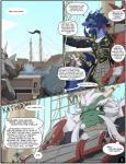 anthro armor battle blue_skin boat comic dragon green_skin long_(zerofox) male pirate pirate_boat qiao red_skin scalie sea water zerofox1000  Rating: Safe Score: 5 User: furry+lover=E621 Date: July 05, 2015