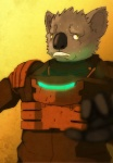 amit anthro armor blood dead_space hi_res koala male mammal marsupial scared solo video_games warm_colors yellow_eyes  Rating: Safe Score: 8 User: Komodo_Saurian Date: August 05, 2011