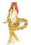 breasts feline female looking_at_viewer mammal nipples nude onu smile solo tiger  Rating: Questionable Score: 2 User: snowblind Date: November 26, 2015