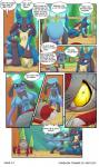 anthro cart comic lucario masterploxy nintendo pawniard pokemon_trainer_8 pokémon riolu scarf video_gamesRating: SafeScore: 5User: Lord-HydreigonDate: March 06, 2017