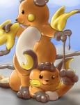 feral goo inflatable mewscaper mind_control nintendo pokémon pool_toy raichu sticky transformation video_games what  Rating: Safe Score: 2 User: Mewscaper Date: September 22, 2015