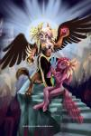 """1trick 2015 anthro anthrofied avian beak buckitponydoodles cleavage clothed clothing cutie_mark duo earth_pony equine feathered_wings feathers female friendship_is_magic gilda_(mlp) gryphon hair holding horse long_hair looking_at_viewer mammal my_little_pony navel nude pinkamena_(mlp) pinkie_pie_(mlp) pony sitting stairs standing tears wings  Rating: Questionable Score: 11 User: lemongrab Date: June 21, 2015"""""""