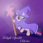 cloak clothing english_text equine female feral friendship_is_magic hat horn magic mammal melee_weapon my_little_pony polearm purple_eyes solo speccysy staff text twilight_sparkle_(mlp) unicorn weapon  Rating: Safe Score: 2 User: Miss_Fluttershy Date: June 08, 2011