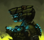 alien armor crossover dead_space eyewear halo_(series) male mechanical sangheili sligarthetiger solo standing video_games   Rating: Safe  Score: 4  User: slyroon  Date: April 20, 2013
