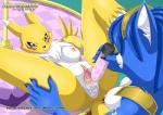 2015 anthro anus blush breasts canine crossover digimon dildo duo female female/female fox gaping gaping_pussy krystal lying mammal nintendo nipples nude pussy pussy_juice renamon sex_toy star_fox video_games wolfsrain88  Rating: Explicit Score: 25 User: Numeroth Date: September 07, 2015