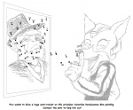 activity_book anthro canine college connect_the_dots fox fox_mccloud fredryk_phox male mammal monochrome nintendo paintchat simple_background star_fox star_fox_crashes_the_art_party video_games white_background  Rating: Questionable Score: 0 User: FraidrykPhawx Date: September 19, 2010