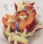 blush brown_eyes clothed clothing eeveelution flareon kemono nintendo open_mouth panties pokémon solo underwear video_games 湖  Rating: Questionable Score: 10 User: KemonoLover96 Date: July 02, 2015""