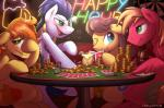 alcohol beverage big_macintosh_(mlp) blue_eyes blush braeburn_(mlp) braeburned caramel_(mlp) cards cutie_mark earth_pony english_text equine feral food friendship_is_magic gambling green_eyes group horse intoxicated littleivy25 male mammal money my_little_pony pegasus pony soarin_(mlp) text wings wonderbolts_(mlp)  Rating: Safe Score: 13 User: slyroon Date: September 21, 2015