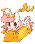 2016 blush crown equine fangs female friendship_is_magic gold_(metal) gold_bar horn joycall3 looking_at_viewer mammal my_little_pony princess_celestia_(mlp) solo winged_unicorn wings  Rating: Safe Score: 6 User: 2DUK Date: January 11, 2016