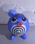 ambiguous_gender black_eyes blue_body hi_res jewzeepapercraft nintendo papercraft pokémon poliwag solo video_games waddling_head