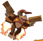 5_toes barefoot brown_eyes brown_fur clothing diddy_kong donkey_kong_(series) fire fur gun hat male mammal monkey navel nintendo open_mouth primate ranged_weapon solo toes tongue video_games weapon wzrd1   Rating: Safe  Score: 1  User: Cαnε751  Date: April 10, 2015