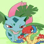 anus archen avian duo eye_contact female female/female feral feral_on_feral flora_fauna green_background half-closed_eyes interspecies ivysaur larger_female nintendo open_mouth pcred566 penetration plant pokémon pussy pussy_juice sex simple_background size_difference smaller_female spread_legs spreading tongue tongue_out vaginal vaginal_penetration video_games vines  Rating: Explicit Score: 6 User: Hyper_Beam Date: August 22, 2014