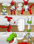 absurd_res age_difference ambiguous_gender anthro claws comic dialogue digimon digimon_(species) digital_media_(artwork) duo guilmon hector21314 hi_res inverted_zero_unit karate markings scalie spanish_text symbol text toe_claws translated yellow_eyes zero_unitRating: SafeScore: 6User: PLM_259_KRZ_29Date: June 05, 2013