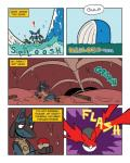 ! comic feral lucario nintendo pokéball pokémon sea shyguy9 video_games vore wailord waterRating: SafeScore: 3User: Queen_Tyr'ahneeDate: September 20, 2016