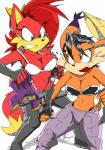 2015 akatsukishiranui-fox anthro big_breasts bra breasts canine clothing conquering_storm duo feline female fight fiona_fox fox lynx mammal panties sonic_(series) torn_clothing underwear  Rating: Questionable Score: 16 User: Robinebra Date: April 17, 2015