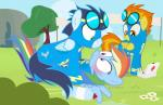 + 2016 blush box dm29 equine eyewear female feral friendship_is_magic goggles group male mammal my_little_pony pegasus rainbow_dash_(mlp) spitfire_(mlp) wings wonderbolts_(mlp)  Rating: Safe Score: 6 User: 2DUK Date: March 05, 2016