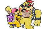 age_difference anal anal_penetration bowser bowserboy101 cuffs_(disambiguation) dildo duo english_text eyewear hair king koopa male male/male mario_bros mask nintendo penetration penis red_hair roy_koopa royalty scalie sex_toy shell simple_background size_difference slightly_chubby smell sniffing sunglasses text tongue video_games white_background young  Rating: Explicit Score: 7 User: Zest Date: January 30, 2016