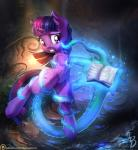 2016 book cutie_mark dfectivedvice equine female feral friendship_is_magic hair hi_res horn mammal my_little_pony navel outside purple_eyes pussy solo teeth tentacles twilight_sparkle_(mlp) unicorn vest_(artist) water  Rating: Explicit Score: 19 User: Egekilde Date: February 06, 2016