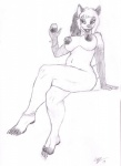 2014 alcohol anthro areola beverage big_nipples breasts canine chubby claws crossed_legs ear_piercing english_text female food fur glass hair half-closed_eyes holding_glass long_hair mammal monochrome navel nipples nude open_mouth piercing pose signature simple_background sitting sketch smile solo spectrumshift teeth text toe_claws toe_ring tongue traditional_media_(artwork) white_background wine  Rating: Questionable Score: 3 User: GameManiac Date: November 26, 2015