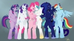 2012 anthro anthrofied areola balls blue_eyes blue_feathers blue_fur blue_hair breasts butt circumcised cum cumshot cutie_mark dickgirl doxolove earth_pony edit equine erection eyes_closed feathers friendship_is_magic frottage full-length_portrait fur grope group hair horn horse humanoid_penis intersex licking licking_lips mammal masturbation multicolored_hair my_little_pony navel nipples orgasm pegasus penis pink_fur pink_hair pinkie_pie_(mlp) pony precum princess princess_celestia_(mlp) princess_luna_(mlp) purple_eyes purple_fur purple_hair rainbow_dash_(mlp) rainbow_fur rainbow_hair rarity_(mlp) royalty sex smile tongue tongue_out twilight_sparkle_(mlp) two_tone_hair unicorn vein white_fur winged_unicorn wings  Rating: Explicit Score: 18 User: king-kaze Date: February 04, 2013