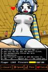 2016 <3 anthro big_breasts blue_hair breasts clothed clothing clothing_lift cum cum_in_pussy cum_inside datfurrydude duo female hair hi_res lava_lamp male male/female nipples panties panties_aside penetration penis shirt shirt_lift short_hair tem temmie_(undertale) undertale underwear vaginal vaginal_penetration video_games  Rating: Explicit Score: 53 User: Bucket Date: February 21, 2016