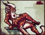areola big_breasts breasts charr feline female grin guild_wars horn looking_at_viewer mammal nipple_piercing nipples nude piercing sligarthetiger solo video_games voluptuous  Rating: Questionable Score: 19 User: Peekaboo Date: November 23, 2014