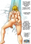anthro butt cheetara comic dialog english_text feline female male mammal nude pubes pussy seiren_(artist) shower text thundercats wet   Rating: Explicit  Score: 3  User: Robinebra  Date: December 14, 2012