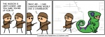 clothed clothing comic cyanide_and_happiness dialogue english_text human humor male mammal open_mouth rob_denbleyker stick_figure text  Rating: Safe Score: 8 User: eelf Date: February 09, 2016