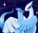 articuno articuno_(artist) avian bird blue_eyes blue_feathers female feral legendary_pokémon lugia male nintendo pokémon red_eyes video_games white_skin   Rating: Safe  Score: 3  User: dark_yveltal  Date: August 17, 2013