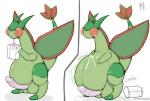 balls belly big_balls big_penis blush chubby claws dragon erection flygon male milk nintendo nude obese open_mouth overweight penis pfh pokémon scalie solo video_games wings  Rating: Explicit Score: 1 User: Hawkbird Date: July 23, 2015