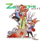 ambiguous_gender anthro baby canine clothed clothing cub cute disney eyes_closed family female fox fur good_parenting green_eyes grey_fur group hi_res hug hybrid judy_hopps lagomorph lying male mammal nick_wilde parent rabbit rampo red_fur simple_background sleeping text young zootopiaRating: SafeScore: 77User: malekrystalDate: July 13, 2016