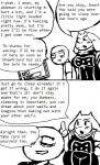 anthro caprine chubby comic english_text female goat human male mammal monochrome text toriel undertale  Rating: Safe Score: 1 User: Juni221 Date: July 03, 2014