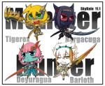 2011 anthro armor barioth beak black_hair blonde_hair blue_eyes blue_skin breasts capcom chibi cleavage clothed clothing deyuragua english_text eyewear fangs female flying_wyvern glasses green_eyes group hair headband horn lance looking_at_viewer monster_hunter nargacuga one_eye_closed open_mouth pink_hair pseudowyvern red_eyes red_skin scalie skykain slit_pupils sword teeth text tigrex video_games weapon white_hair white_skin wink wyvern yellow_eyes yellow_skin   Rating: Safe  Score: 2  User: GameManiac  Date: May 10, 2015