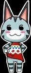 animal_crossing anthro blush cat clothing dress dress_lift feline female flaminganon lolly_(animal_crossing) mammal nintendo pussy solo video_games   Rating: Explicit  Score: 1  User: Juni221  Date: March 01, 2014