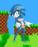 blue_fur breasts clothing dickgirl erection fur gloves hedgehog intersex looking_at_viewer mammal panties panties_aside penis solo sonic_(series) sonic_the_hedgehog theother-s underwear  Rating: Explicit Score: 8 User: WhiteWhiskey Date: August 22, 2015