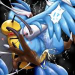 <3 abdomen arthropod articuno avian bamia bdsm bee beedrill blindfold blush bondage bound claws cum cum_inside duo female feral insect interspecies male nintendo penetration pokémon red_eyes spread_legs spreading suspension video_games wings   Rating: Explicit  Score: 14  User: chdgs  Date: December 12, 2013