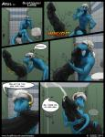 2014 anthro azul_draconis bathroom blue_body blue_eyes blue_skin boxers claws clothing comic cum cumshot dialogue dickbutt digital_media_(artwork) digitigrade dragon duo english_text erection fellatio glory_hole hair horn humor humorous hyper hyper_penis inside male male/male nude open_mouth oral orgasm partially_clothed penis sex smile solo_focus standing text tokaido toned tongue underwear white_hair   Rating: Explicit  Score: 29  User: Tokaido  Date: September 26, 2014