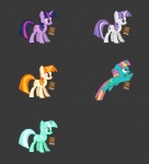blonde_hair book colorswap crossover cutie_mark dewdrop_dazzle_(mlp) equine female feral fighting_is_magic friendship_is_magic fur green_eyes green_fur green_hair grey_background hair horn lyra_heartstrings_(mlp) mammal mane6 multicolored_hair my_little_pony orange_eyes orange_fur orange_hair pink_hair purple_eyes purple_fur purple_hair simple_background twilight_sparkle_(mlp) twilight_velvet_(mlp) two_tone_hair unicorn video_games white_fur white_hair  Rating: Safe Score: 2 User: kokonoe Date: December 25, 2012