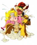 areola big_breasts bowser breasts cum cum_in_pussy cum_inside duo erect_nipples erection excessive_cum female frontierbrain koopa male male/female mario_bros messy nintendo nipples nude orgasm penetration penis princess_peach pussy scalie sex vaginal vaginal_penetration video_games   Rating: Explicit  Score: 4  User: Robinebra  Date: October 25, 2014