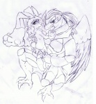 2011 alternate_species avian breasts butt claws crossover dragon feathered_wings feathers featureless_breasts hair haxorus hybrid lagomorph legendz linvar long_hair lopunny mammal monochrome nintendo nude open_mouth pidgeot pokémon ranshiin scales side_boob simple_background sketch tigerlilylucky toe_claws traditional_media_(artwork) video_games white_background wings  Rating: Questionable Score: 0 User: GameManiac Date: February 09, 2016