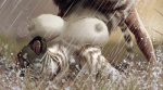 anthro breasts equine female hattonslayden human lying male mammal nipples on_back open_mouth raining stripes water wet zebra   Rating: Questionable  Score: 7  User: Pasiphaë  Date: April 21, 2015