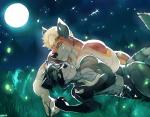 abs arthropod biceps canine captain_nikko cloth couple cuddling duo fire fly forest insect male mammal moon moonlight muscles nature nude outside pecs procyon raccoon tree   Rating: Safe  Score: 0  User: Vallizo  Date: March 17, 2015