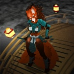 anthro armor bridge canine female fog fox mammal samurai saria severus solo sword unconvincing_armor weapon   Rating: Questionable  Score: 7  User: severus  Date: January 26, 2010
