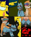 anal anal_penetration anus comic gipbandit hypno hypnosis male male/male masturbation mind_control monferno nintendo penetration penis pointing pokémon riolu sex tapering_penis video_games voyeur   Rating: Explicit  Score: 0  User: GipBandit  Date: March 26, 2015