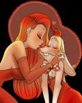 <3 anthro blush breasts disney duo eyes_closed female human interspecies jessica_rabbit kissing lagomorph lipstick male mammal marylittlerose rabbit roger_rabbit who_framed_roger_rabbit  Rating: Safe Score: 13 User: LoveIsThePrice Date: October 21, 2014