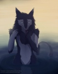 abstract_background ambiguous_gender bathing claws nude sergal sidgi simple_background solo tongue tongue_out water wet  Rating: Safe Score: 1 User: normal_jam Date: November 29, 2015