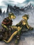 2014 after_sex anthro argonian armor bottomless clothed clothing cunnilingus digital_media_(artwork) dripping duo female grass half-dressed hi_res lizardlars male male/female oral orgasm outside partially_clothed pussy pussy_juice pussy_juice_string rock scales scalie sex smile the_elder_scrolls the_elder_scrolls_v:_skyrim tree vaginal video_games   Rating: Explicit  Score: 72  User: Timtam  Date: September 17, 2014